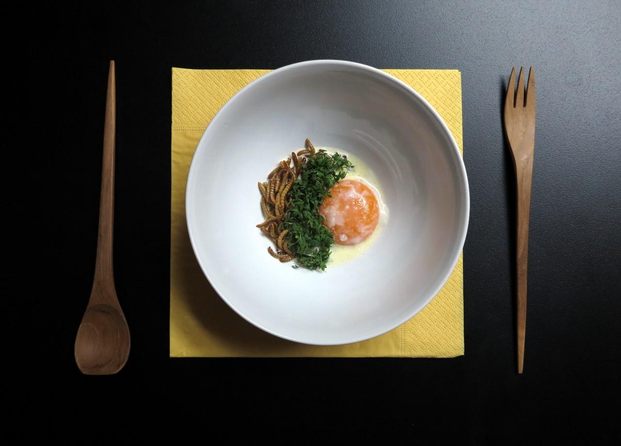 Dieses kulinarische Highlight ist der Einstieg in das Insektenmenü der Zukunft.